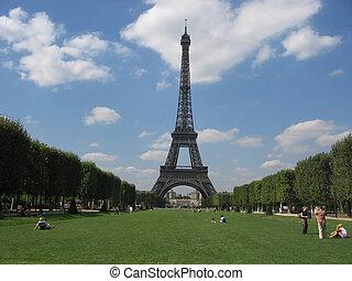 Eiffel, 塔, 巴黎