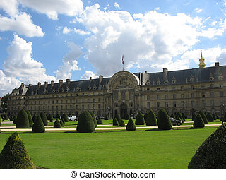 Les Invalides, Paris - Esplanade des Invalides, Paris