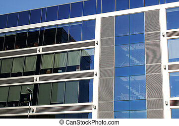 Corporative building - Modern Corporative building, detailed