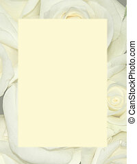 Yellow Roses - Background Stationery - Faded yellow roses...