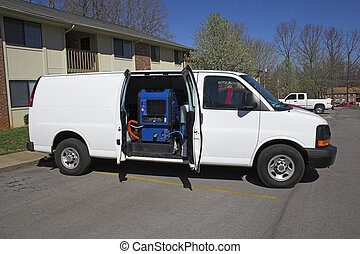 carpet cleaning van 1 - New carpet cleaning van, ready to...