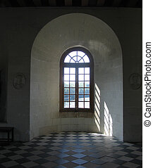 inside Chenonceau chateau, Loire Valley France