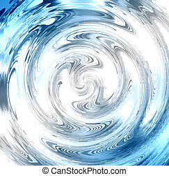 Abstract Underwater Light Twirl - Looks like something you...