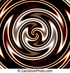 Dark Chocolate Swirl - Dark chocolate swirl...mmm yummy!