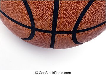 basketball closeup - details of a basketball