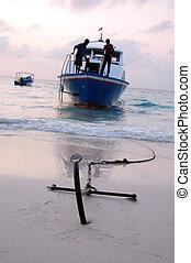 Ship Anchor 2 - Anchor of small passenger ship