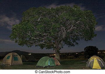 africa landscape 031 ngorongoro night view