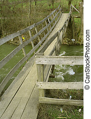 Woode bridge - Wooden old bridge