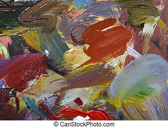 Oil palette - Colours palette for painting - this is my...