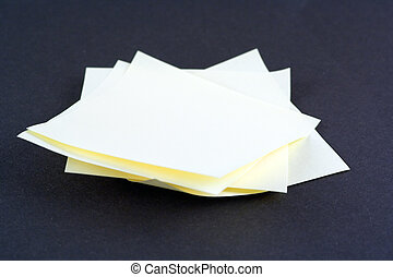 Pile of Messages - Messages piled up