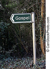 Gospel - Sign for Gospel