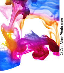 technicolour smoke waves - ultra smooth smoky patterns on...
