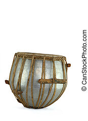 Tabla Drum - Tabla drum against a white background