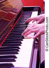 piano, juego