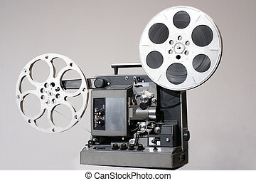 Retro 16mm Film Projector - tradiitonal old film projector...