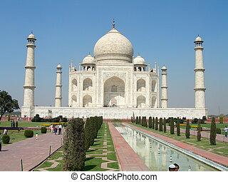 Taj Mahal - taj Mahal in Agra