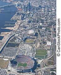 Jacksonville,FL - Aerial of Facksonville Florida