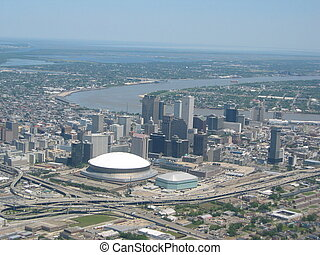 New Orleans1 - Aerial of New Orleans