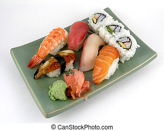 Nigiri sushi - A selection of nigiri sushi