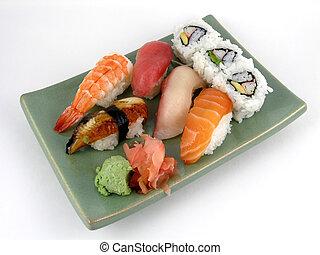 Nigiri sushi - A selection of nigiri sushi