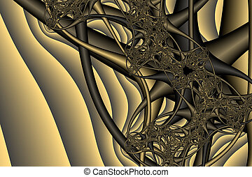 Fractal Design 4 - Computer Generated fractal Images 4