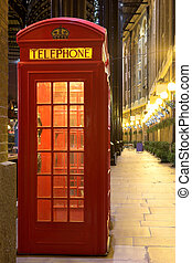 London#33 - Telephone booth in London.