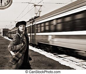 perdido, trem