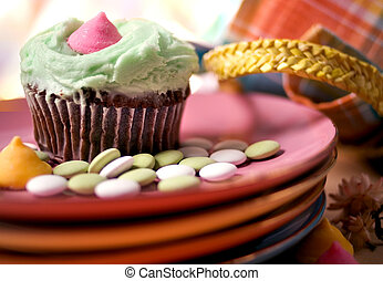 Delicious Cupcake - Cupkake and Candies