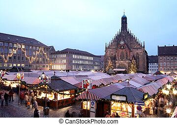 Neurenburg #65 - Flea Market at night in Neurenburg....