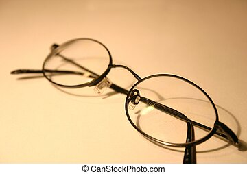 Eyeglasses - black rimmed eyeglasses
