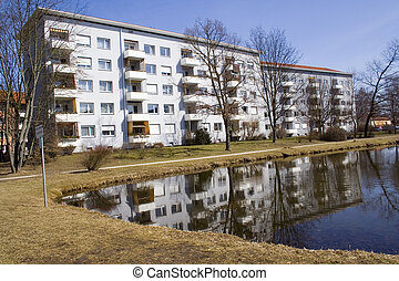 Apartment Near Lagoon - An Apartmant with a lagoon in front