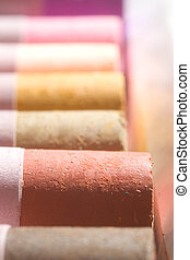 Pastels: Earth Tones - A line of earth-tone pastels