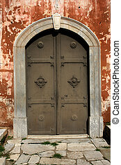 Old door - Rotonda\\\' door, Thessaloniki