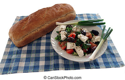 greek salad - a special greek salad