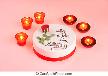 candle light cake