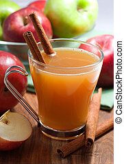 Apple Cider - Apple cider with cinnamon