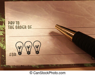 Idea Check 2 - Check with lightbulbs in memo section