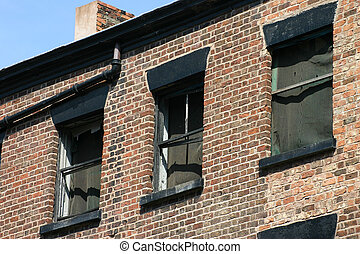 Derelict Windows - Liverpool Windows