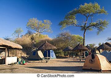 africa landscape 025 serengeti camp.