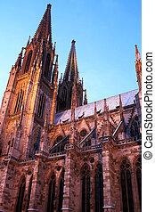 Regensburg#36 - Cathedral in Regensburg