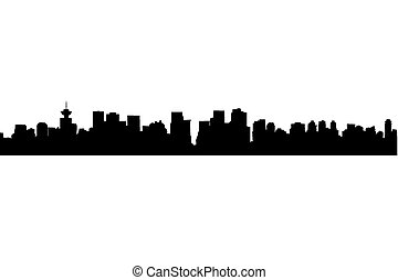 Vancouver isolated - An almost cartoonish isolation of the...