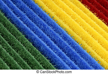 Color Velcro Background