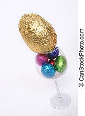 Easter Eggs Close up - Easter egg hunt