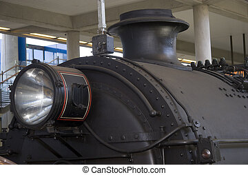 Steam Train - Steam train at station