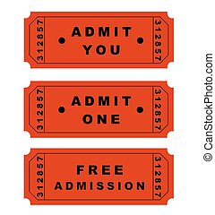 Tickets - Theatre/Cinema tickets