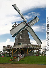 windmill - a winmill from the mennonite herritage cillage...