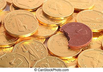 pengar, utsökt