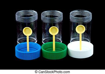 Specimen container - Various specimen containers