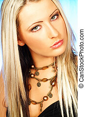 Lady Portrait - Portrait of attractive beautiful young woman