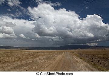 africa landscape 038 ngorongoro.